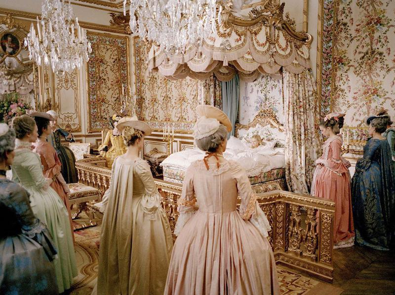 Kirsten Dunst stars as Marie Antoinette, living in the palace of Versailles