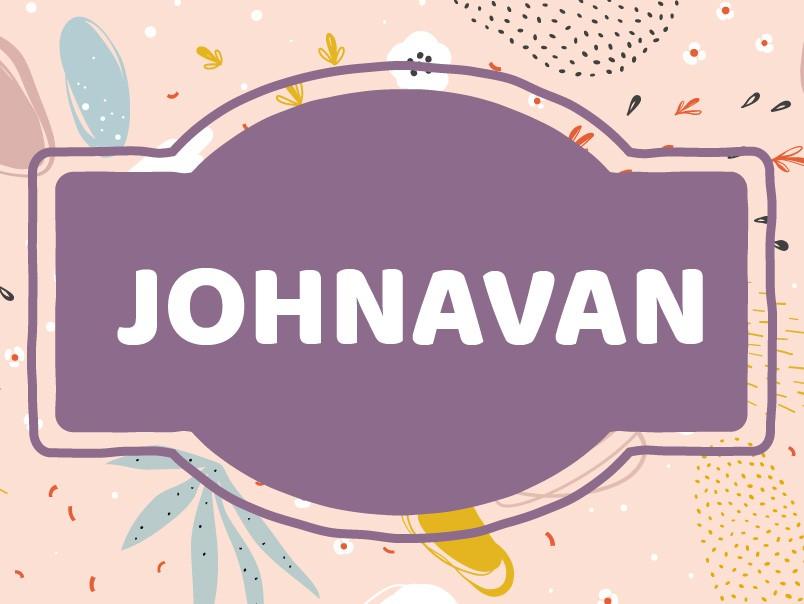 Baby Name Inspiration: Johnavan