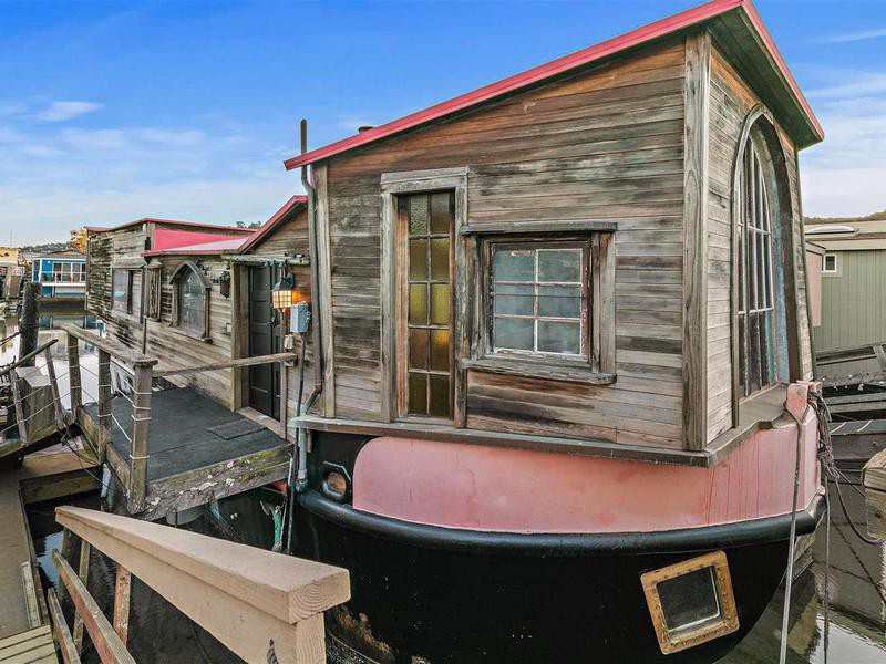 Shel Silverstein's houseboat for sale