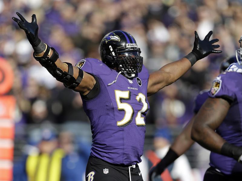 Baltimore Ravens Linebacker Ray Lewis