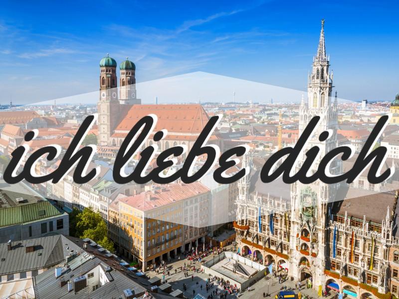 'I Love You' in German