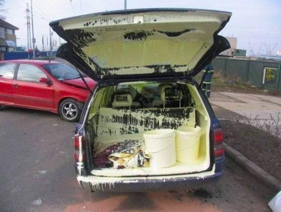 Paint all over car