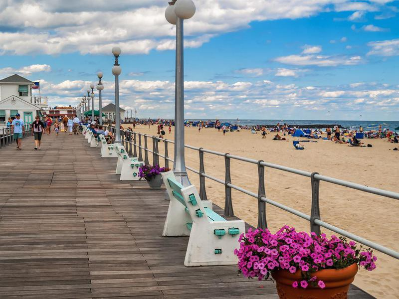 Boardwalk in Avon-by-the-Sea