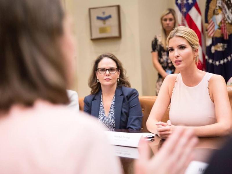 Ivanka Trump moves into politics