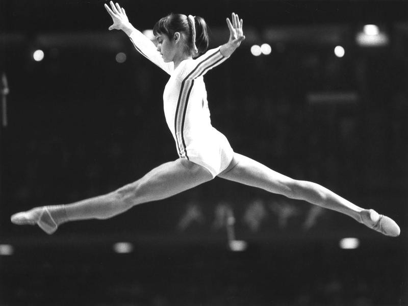 Nadia Comaneci is one of the best womens gymnasts of all time