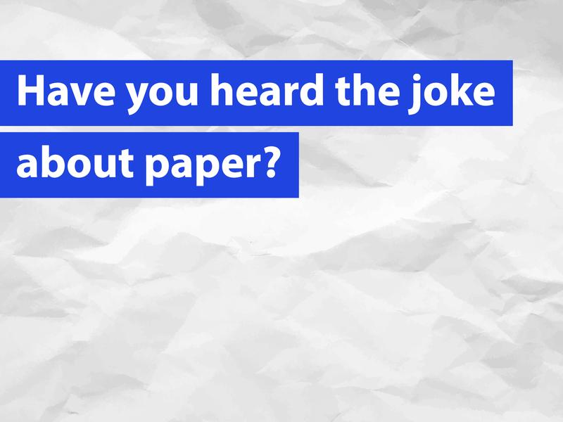 Paper Joke