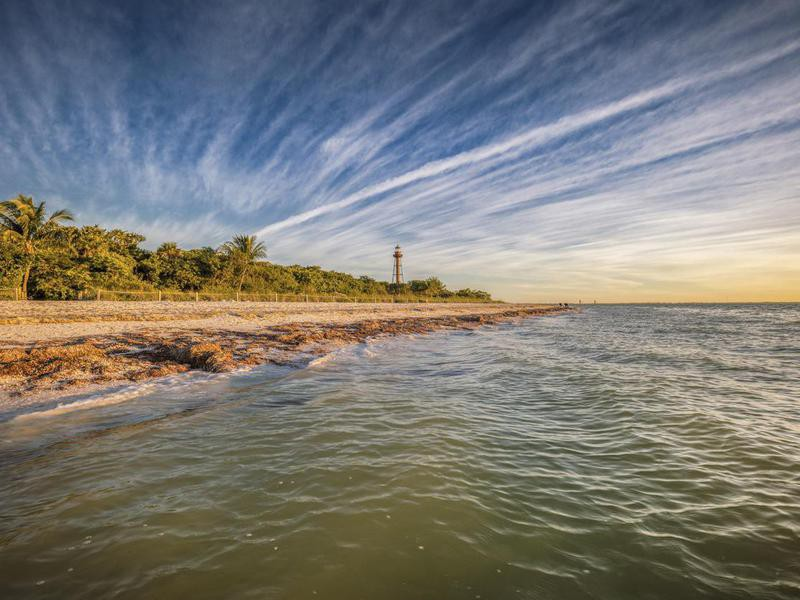 Sanibel Lighthouse in Florida
