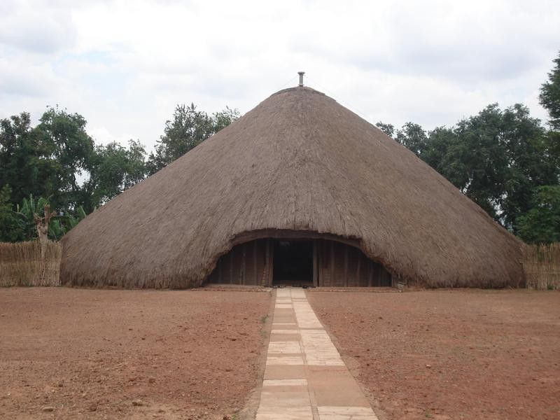 Tomobs of Buganda Kings at Kasubi