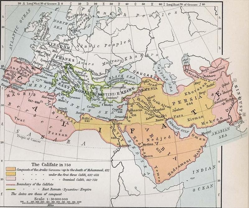 Expansion of the Muslim Caliphate