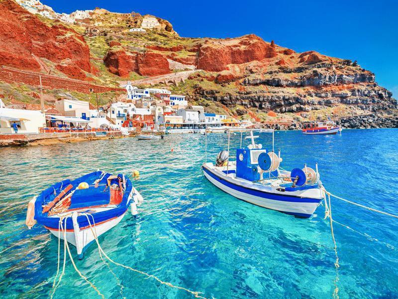 Oia Port, Santorini