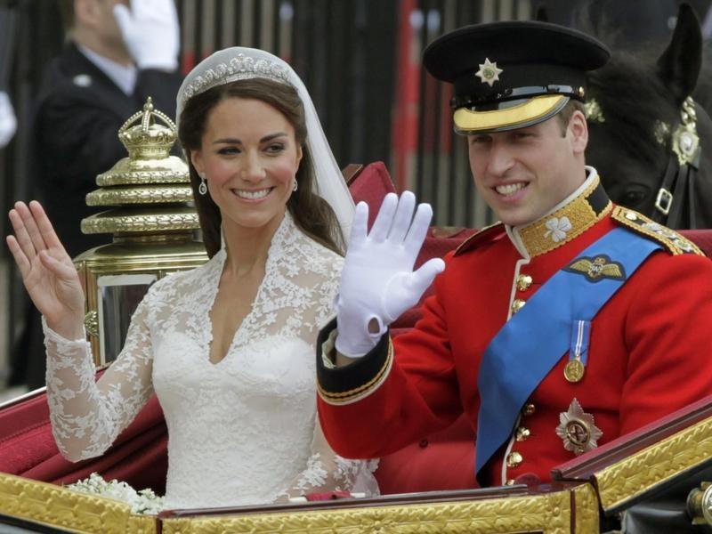 Kate Middleton Wearing the Cartier Halo Tiara