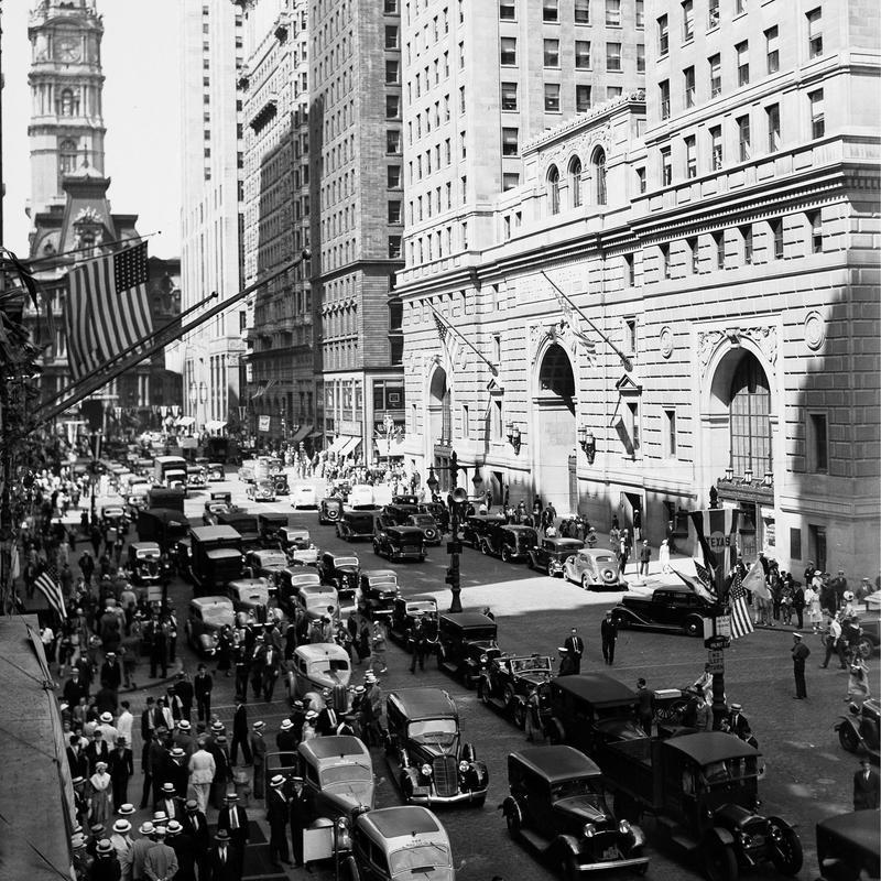 Downtown Philadelphia, 1936