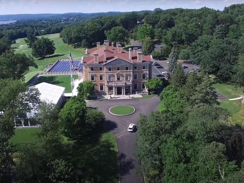 Sleepy Hollow Country Club drone footage