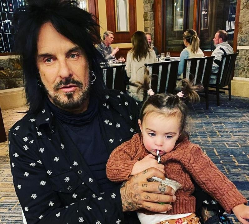 Nikki Sixx and daughter Ruby