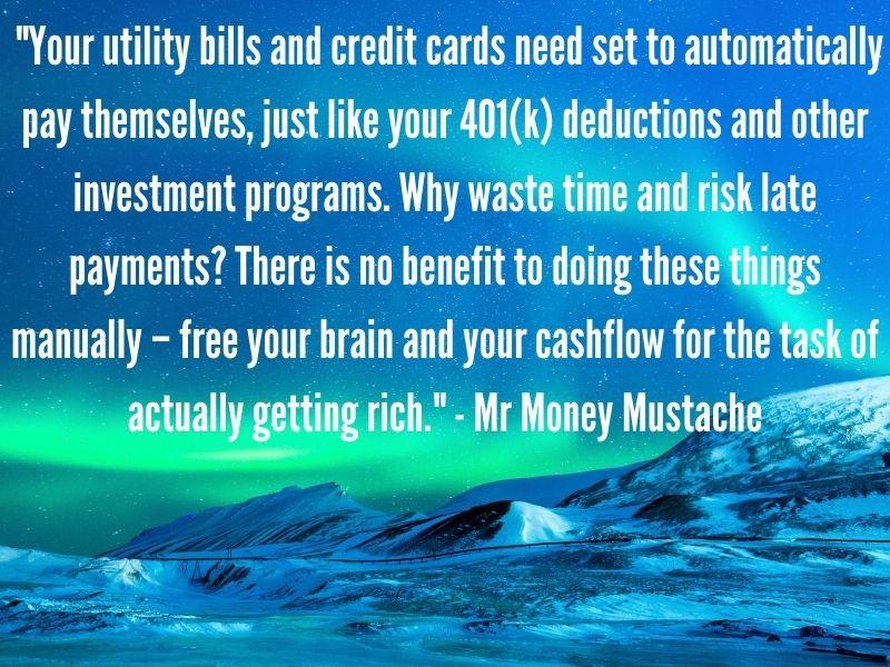 Mr Money Mustache quote