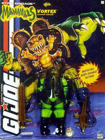 G.I. Joe Manimals Vortex Figure