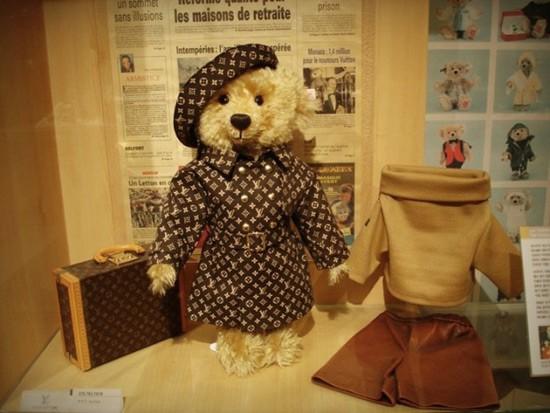 Steiff & Louis Vuitton Teddy Bear