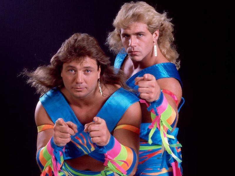 Marty Jannetty and Shawn Michaels