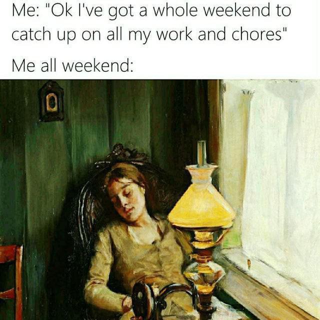 Weekend fail meme