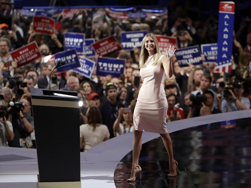 Ivanka Trump at the national convention