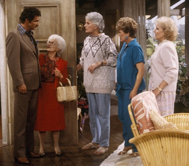 Burt Reynolds in The Golden Girls
