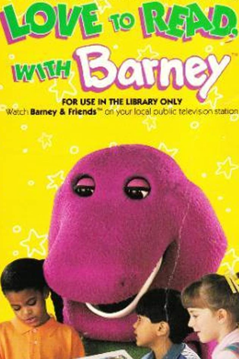 Love to Read With Barney VHS tape