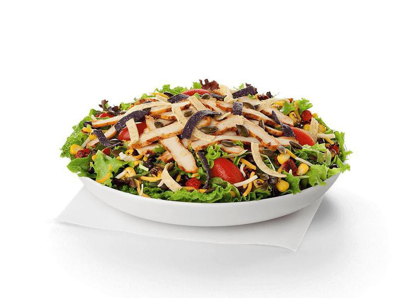 Spicy Southwest Salad, Healthiest Fast Food Items