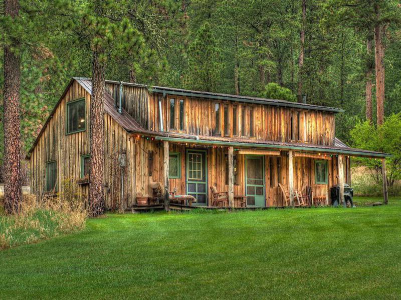 Cabin at Green Mountain in South Dakota