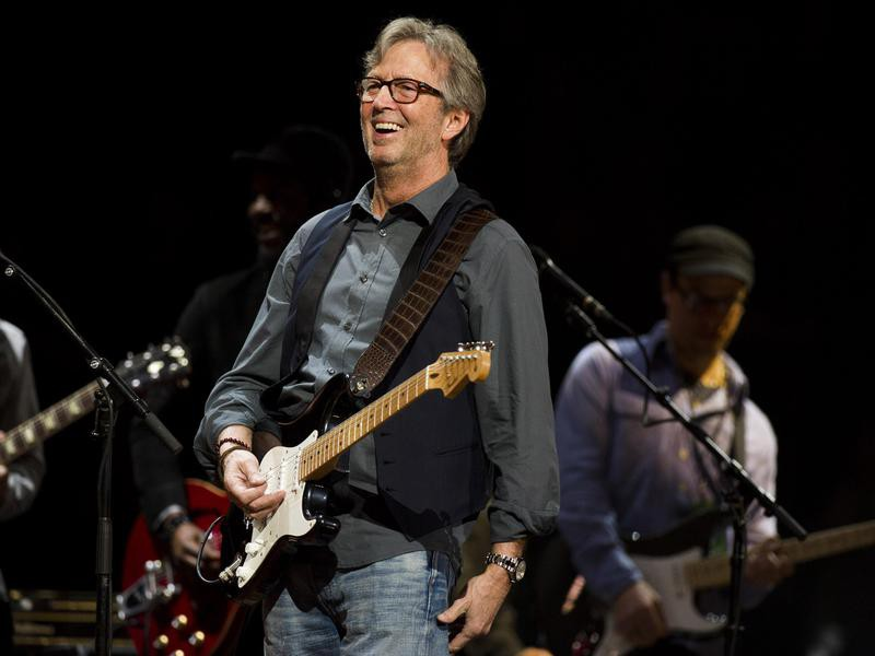 Eric Clapton's Crossroads Guitar Festival in 2013