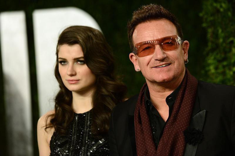 Bono and Eve Hewson