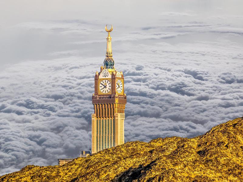 Makkah Royal Clock Tower, Mecca, Saudi Arabia