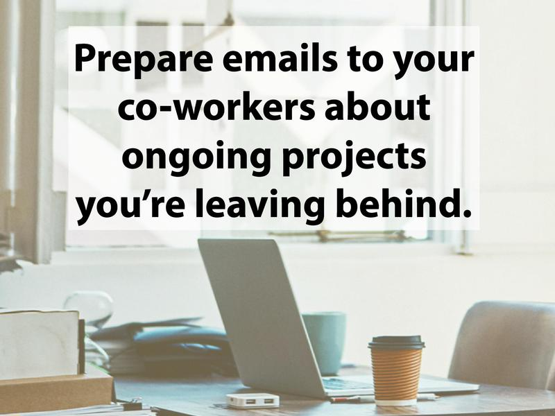 Prep your projects