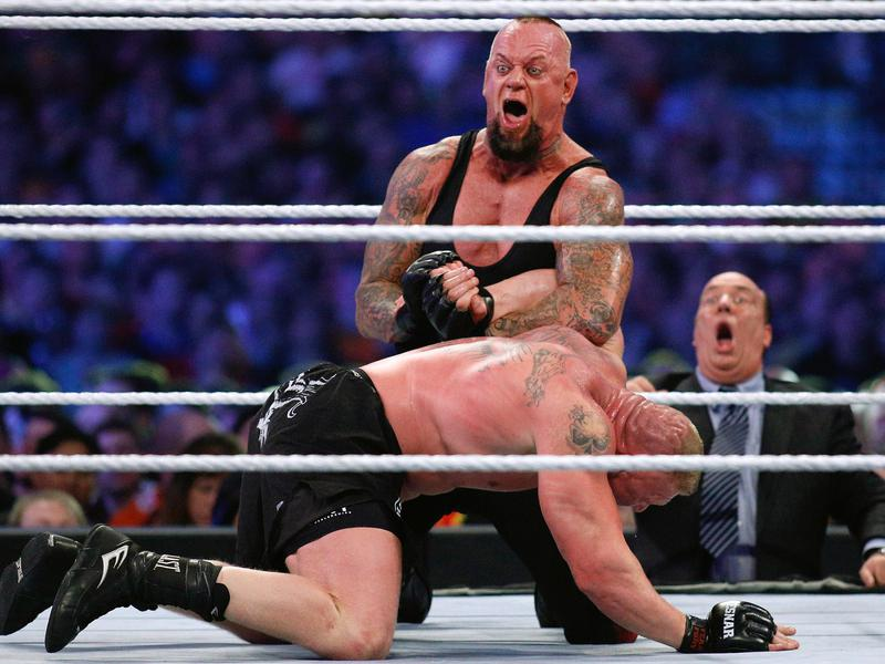 The Undertaker and Brock Lesnar