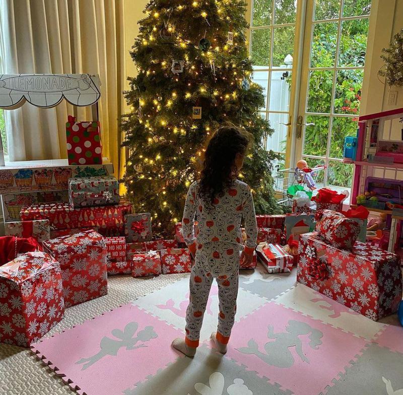 Christmas at Dwayne Johnson's house