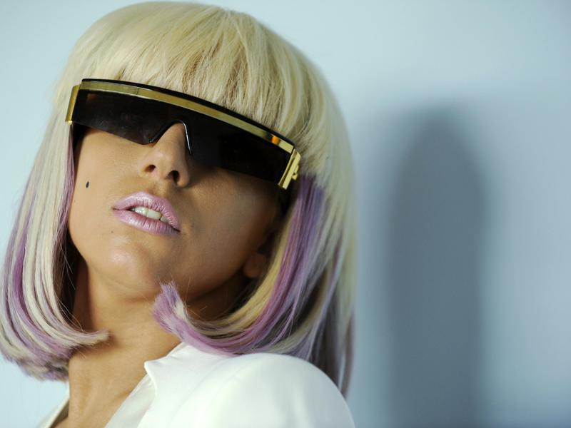 Lady Gaga in shades
