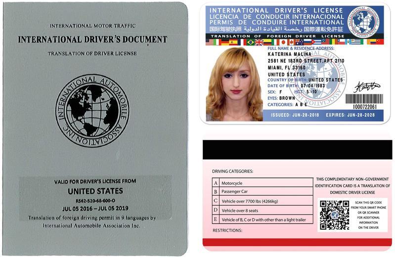 International Driving Permit Scam