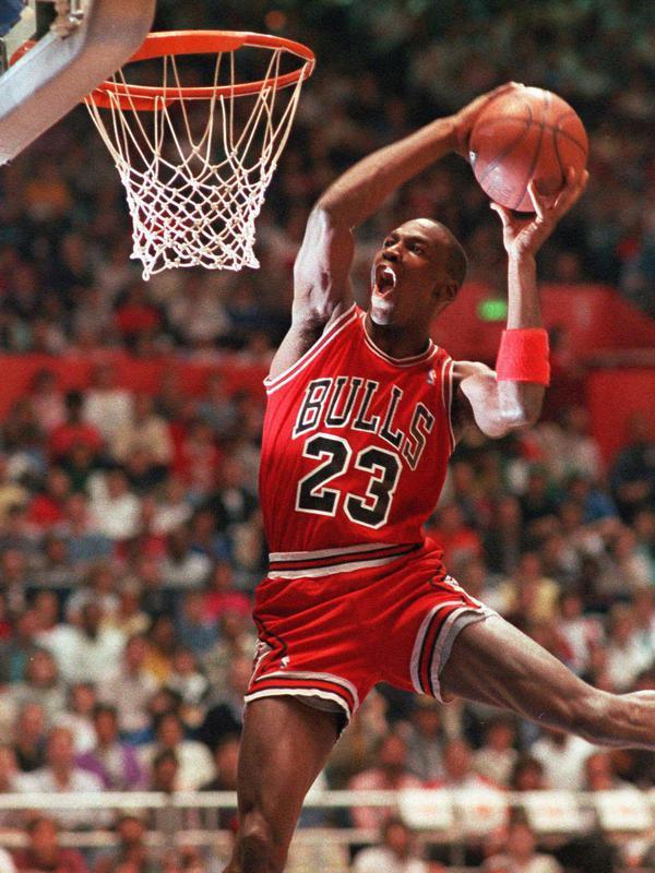Michael Jordan in NBA All-Star Slam Dunk contest