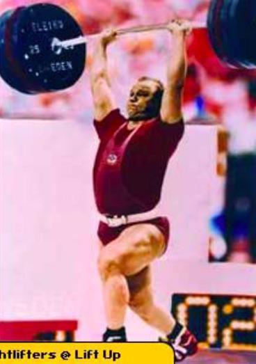 Yury Zaitsev lifting