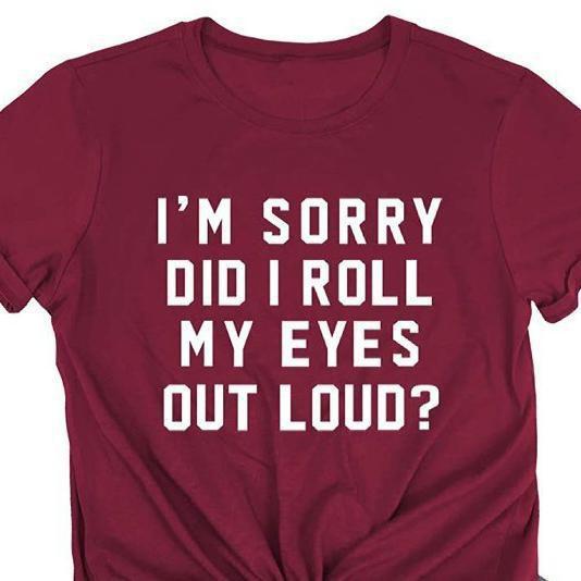 Eye Rolling T-Shirts