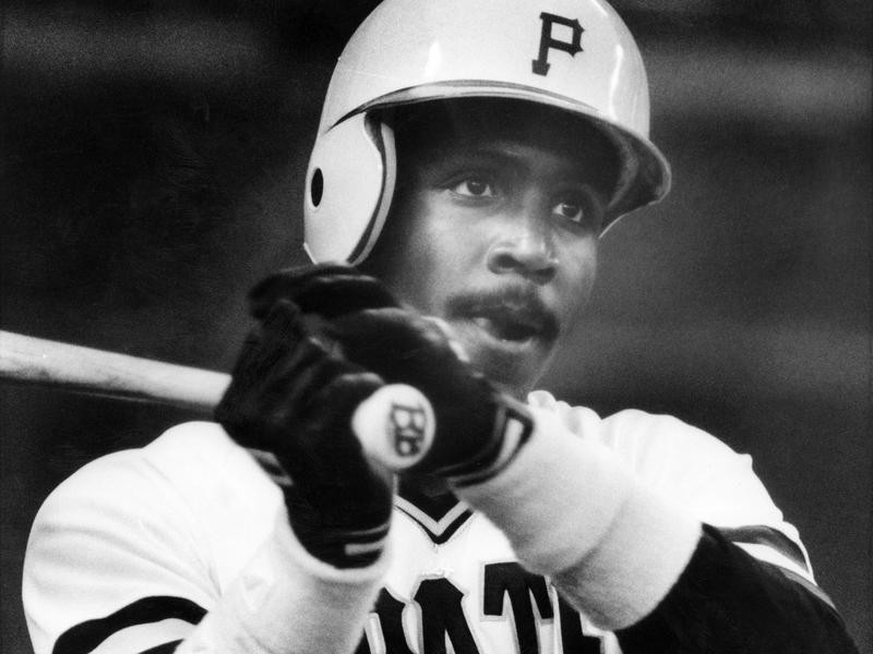Pittsurgh Pirates outfielder Barry Bonds