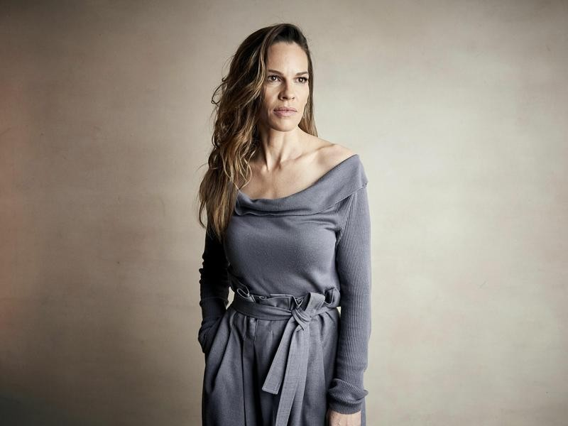 Hilary Swank at Sundance Film Festival