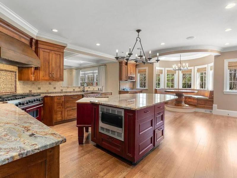 David Ortiz's kitchen