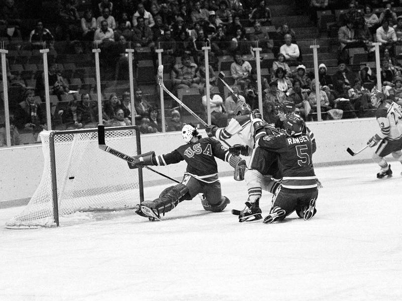 Michael Ramsay in action against Sweden
