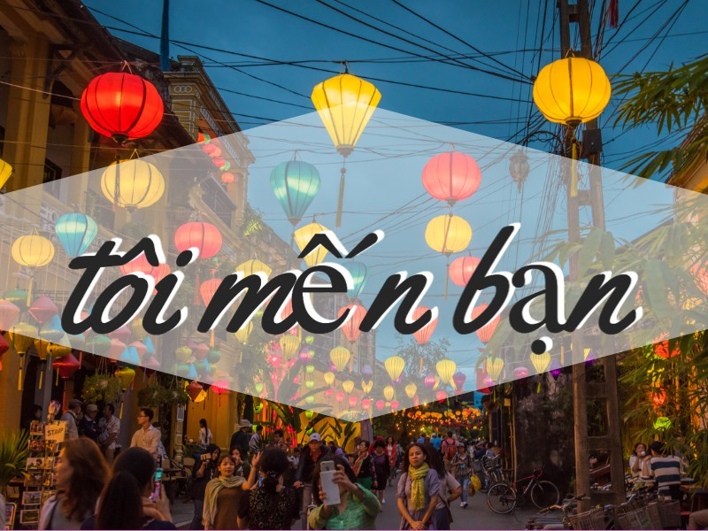 How to say 'I Love You' in Vietnam