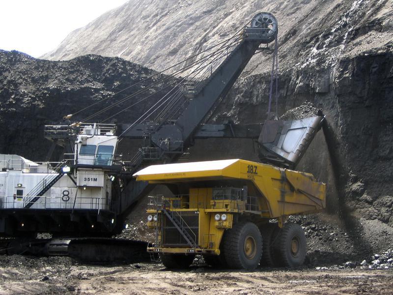 Black Thunder Mine in Wright, Wyoming