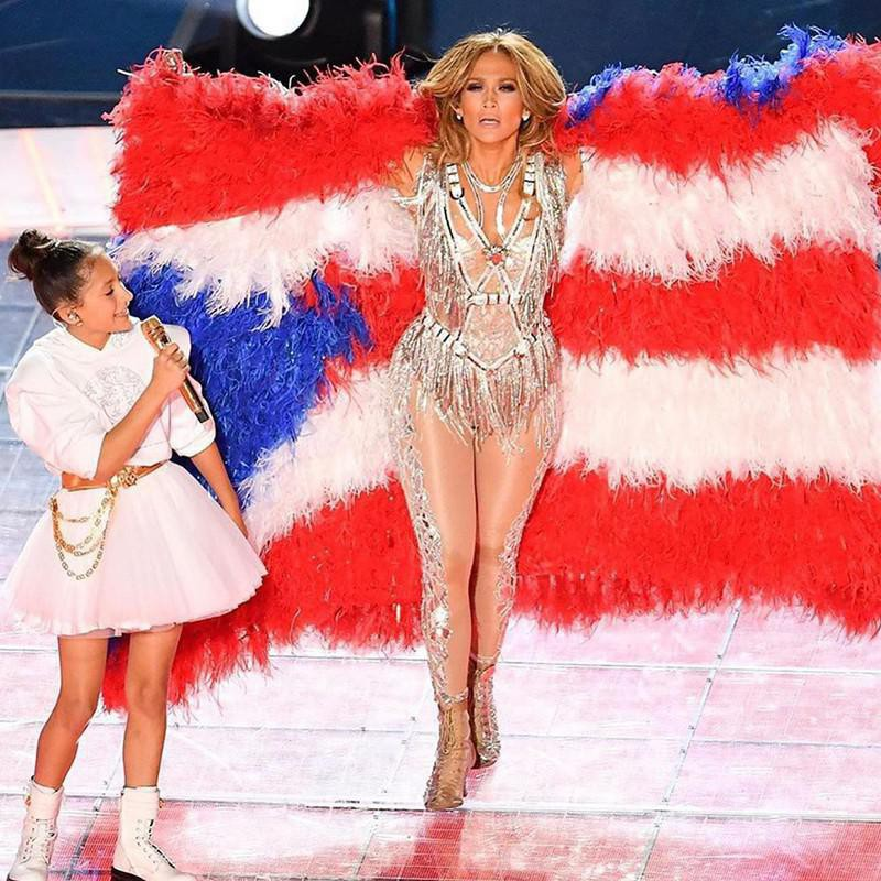 J.Lo and Daughter Emme