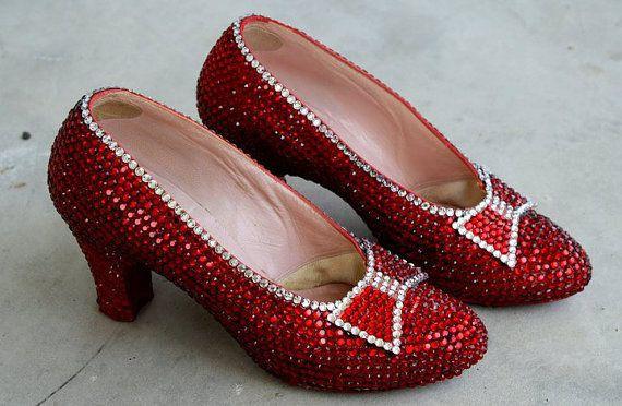 Harry Winston Ruby Slippers