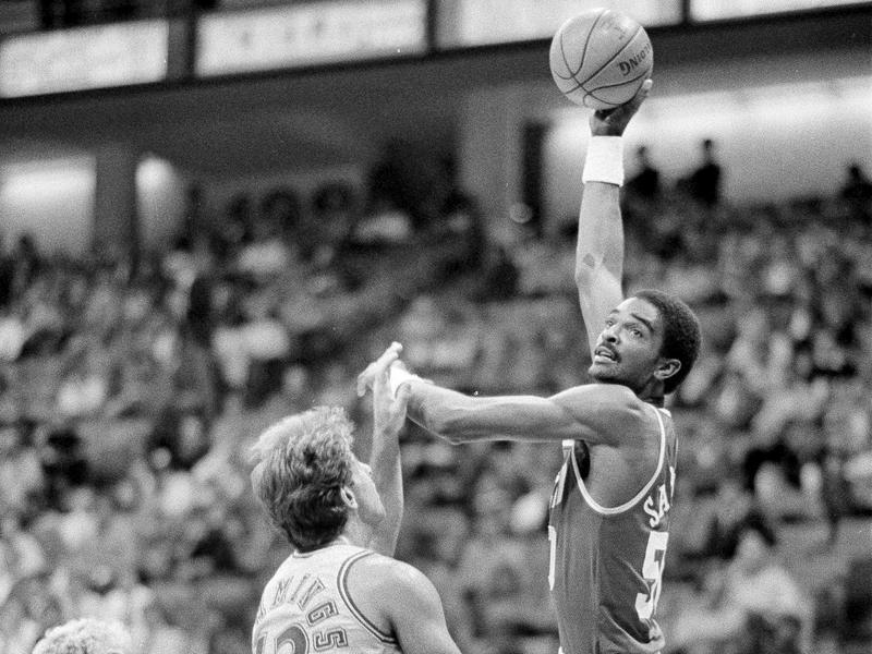 Houston Rockets center Ralph Sampson
