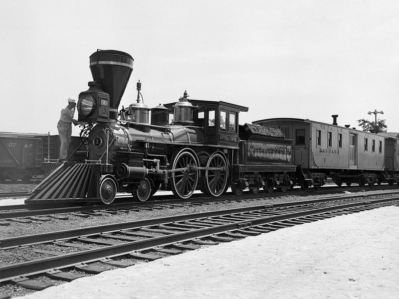 1861 William Crooks Train