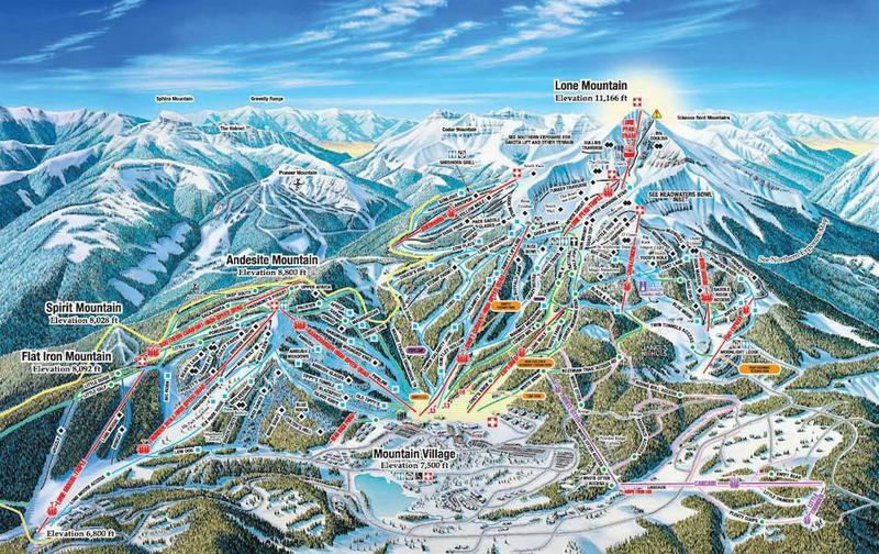 Big Sky Trail Map